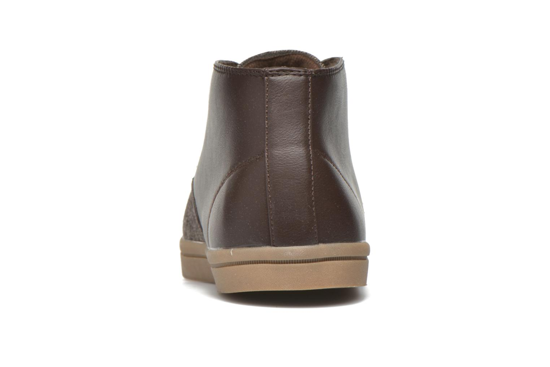 Sneaker I Love Shoes SUPEVRON braun ansicht von rechts