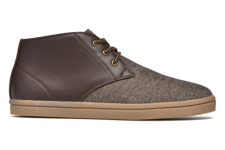 Sneaker I Love Shoes SUPEVRON braun ansicht von hinten