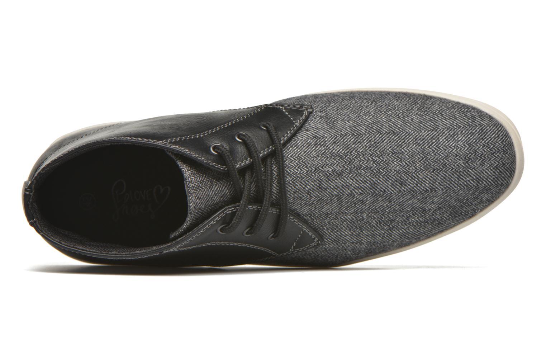 Baskets I Love Shoes SUPEVRON Noir vue gauche
