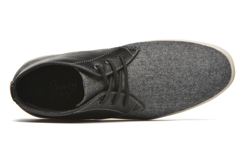 Deportivas I Love Shoes SUPEVRON Negro vista lateral izquierda