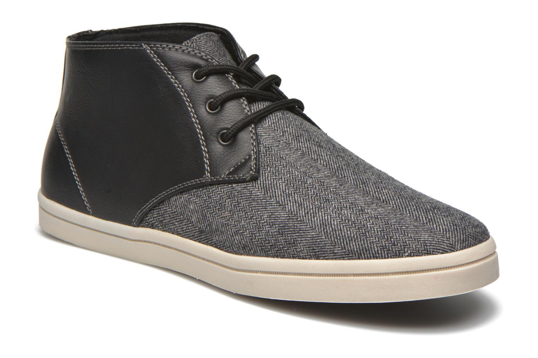 Baskets I Love Shoes SUPEVRON Noir vue détail/paire