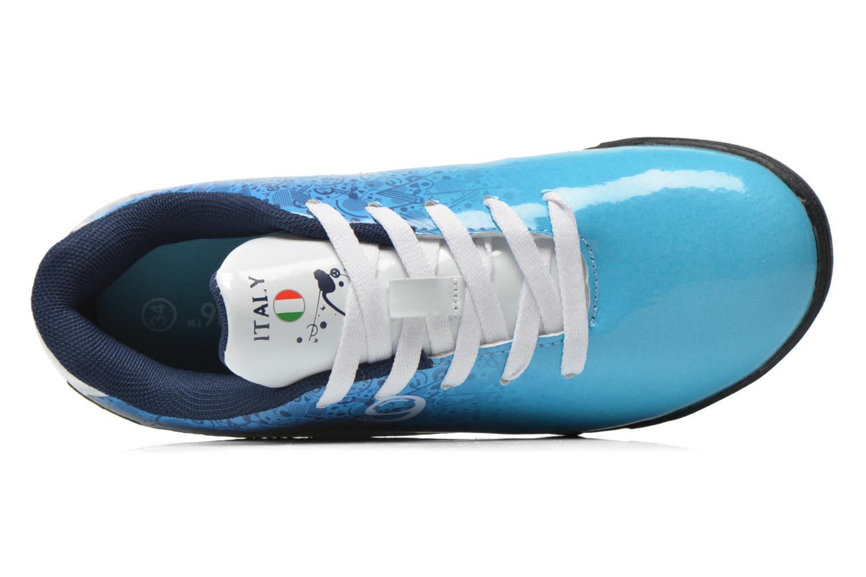 Sportschuhe EURO 16 Victor blau ansicht von links