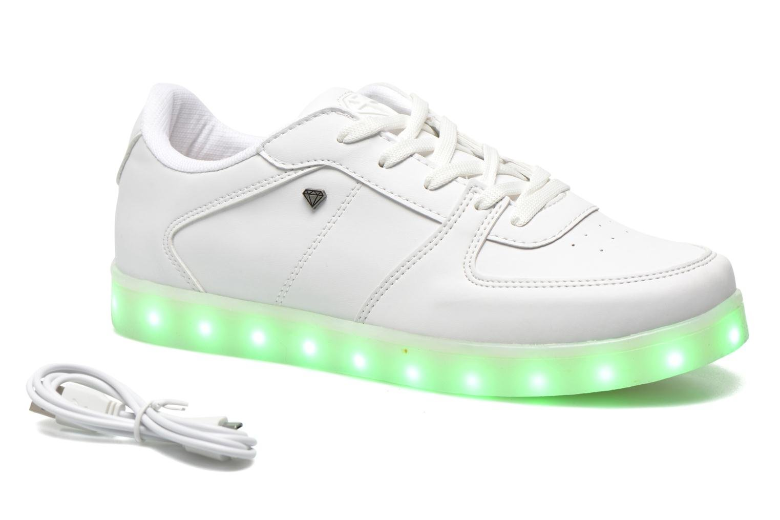 Trainers Cash Money CMS 37 White detailed view/ Pair view