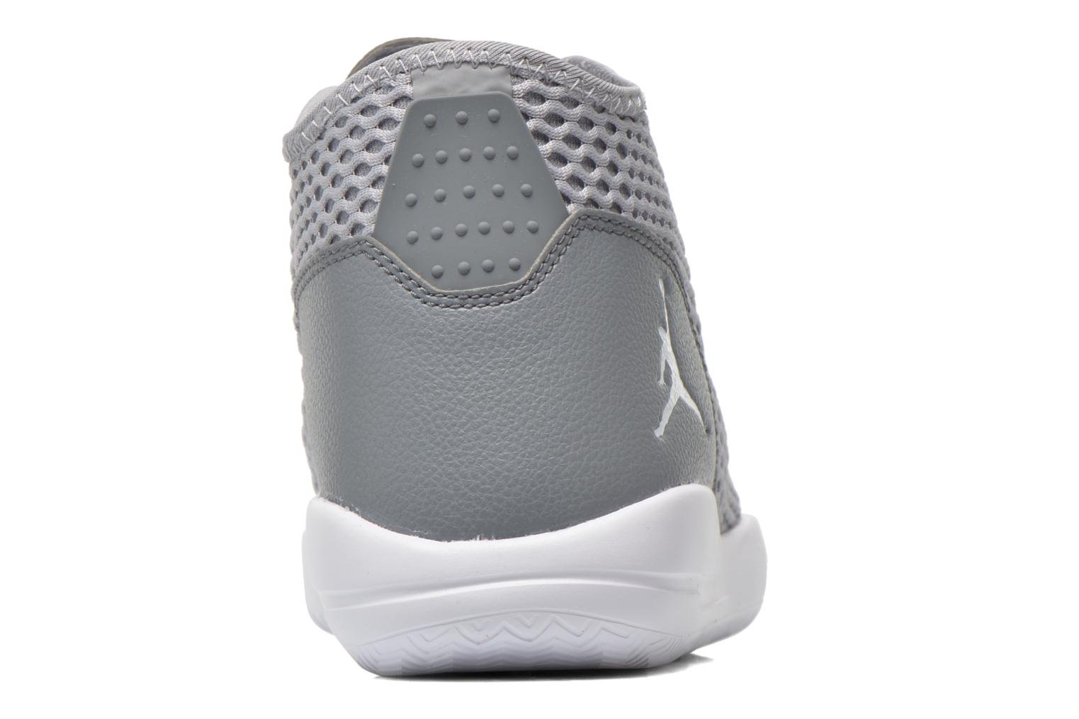 Lace-up shoes Jordan Jordan Reveal Grey view from the right