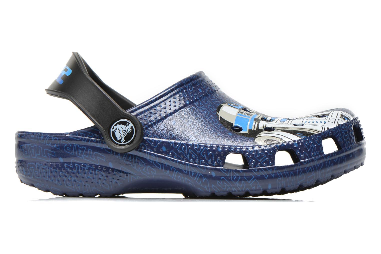 Sandalias Crocs Classic Star Wars R2D2 C3PO Azul vistra trasera