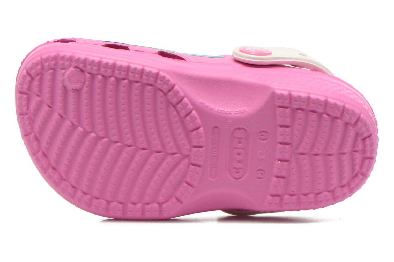 Sandalen Crocs CC FrozenFever Clog K rosa ansicht von oben