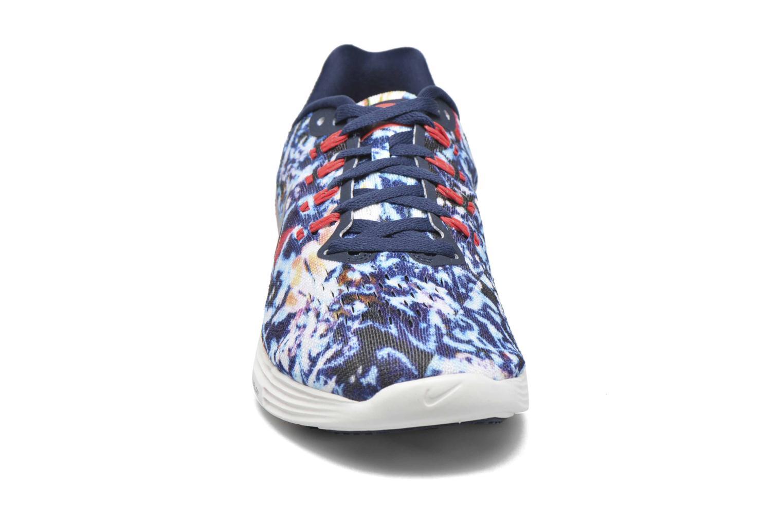 Wmns Nike Lunartempo 2 Rf E Brt Crmsn/Mid Nvy-Rflct Slvr