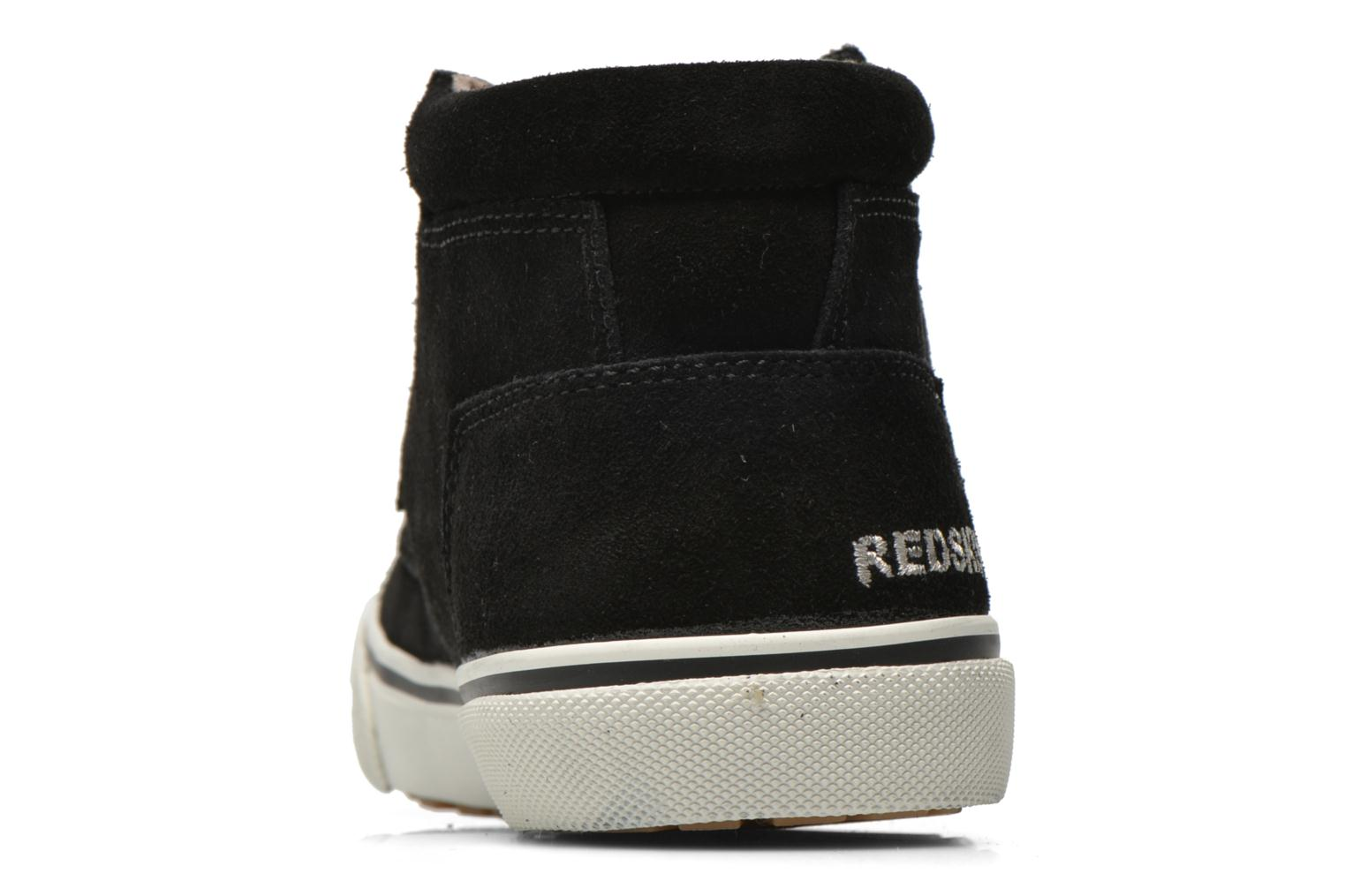 Trainers Redskins Floris Black view from the right