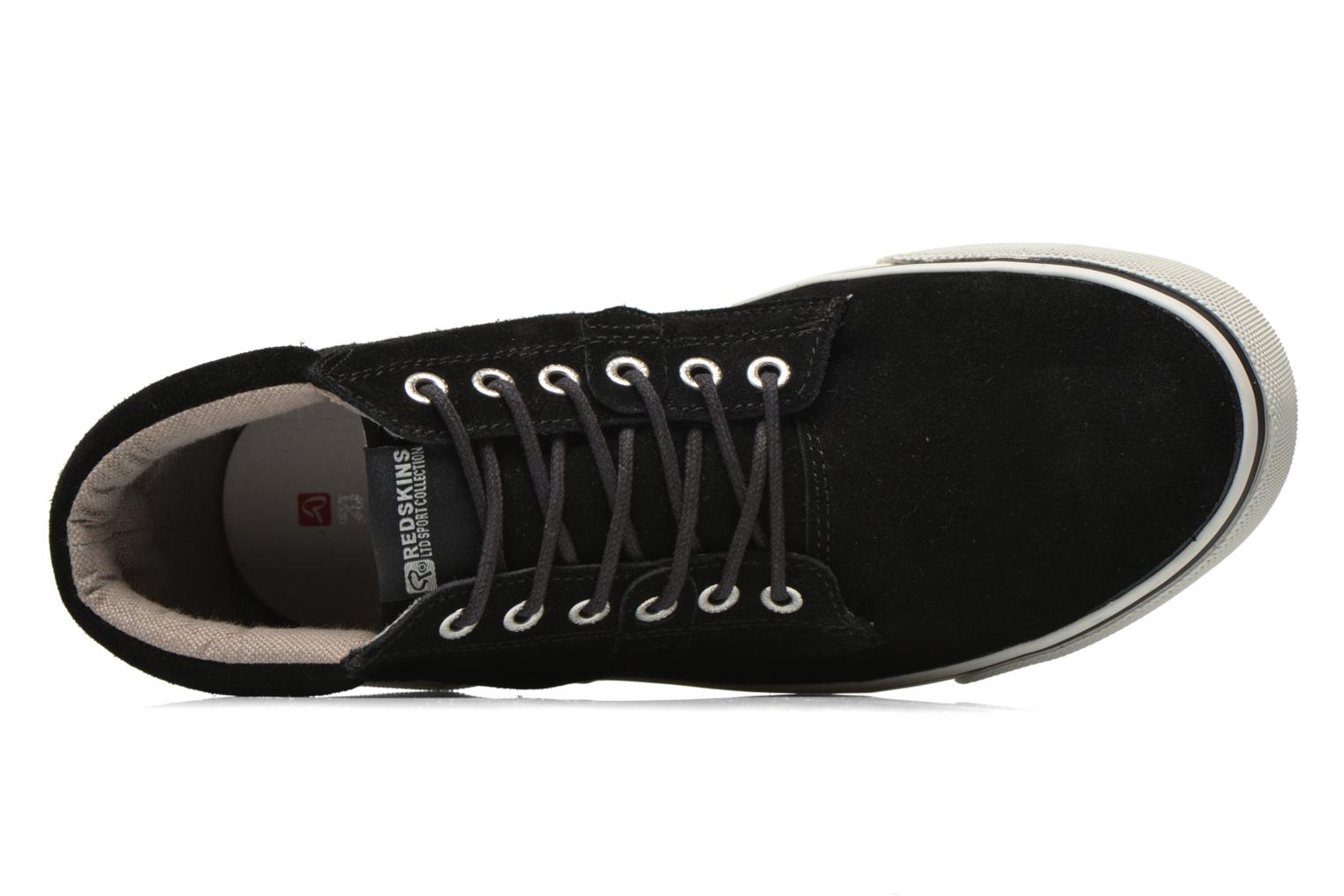 Trainers Redskins Floris Black view from the left