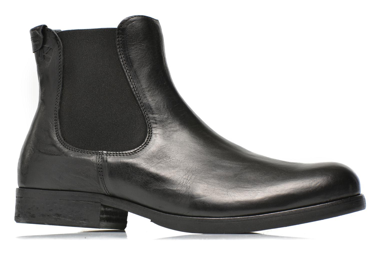 Ankle boots Kost Bernache Black back view