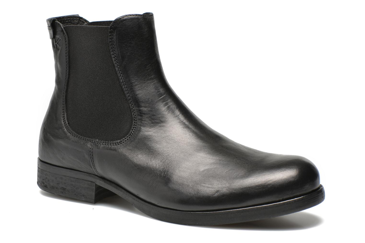 Ankle boots Kost Bernache Black detailed view/ Pair view