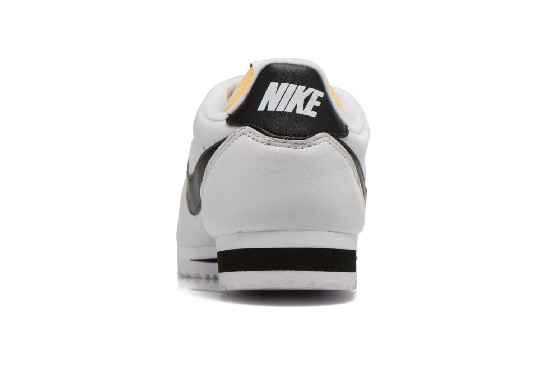 Deportivas Nike Classic Cortez Prem Blanco vista lateral derecha