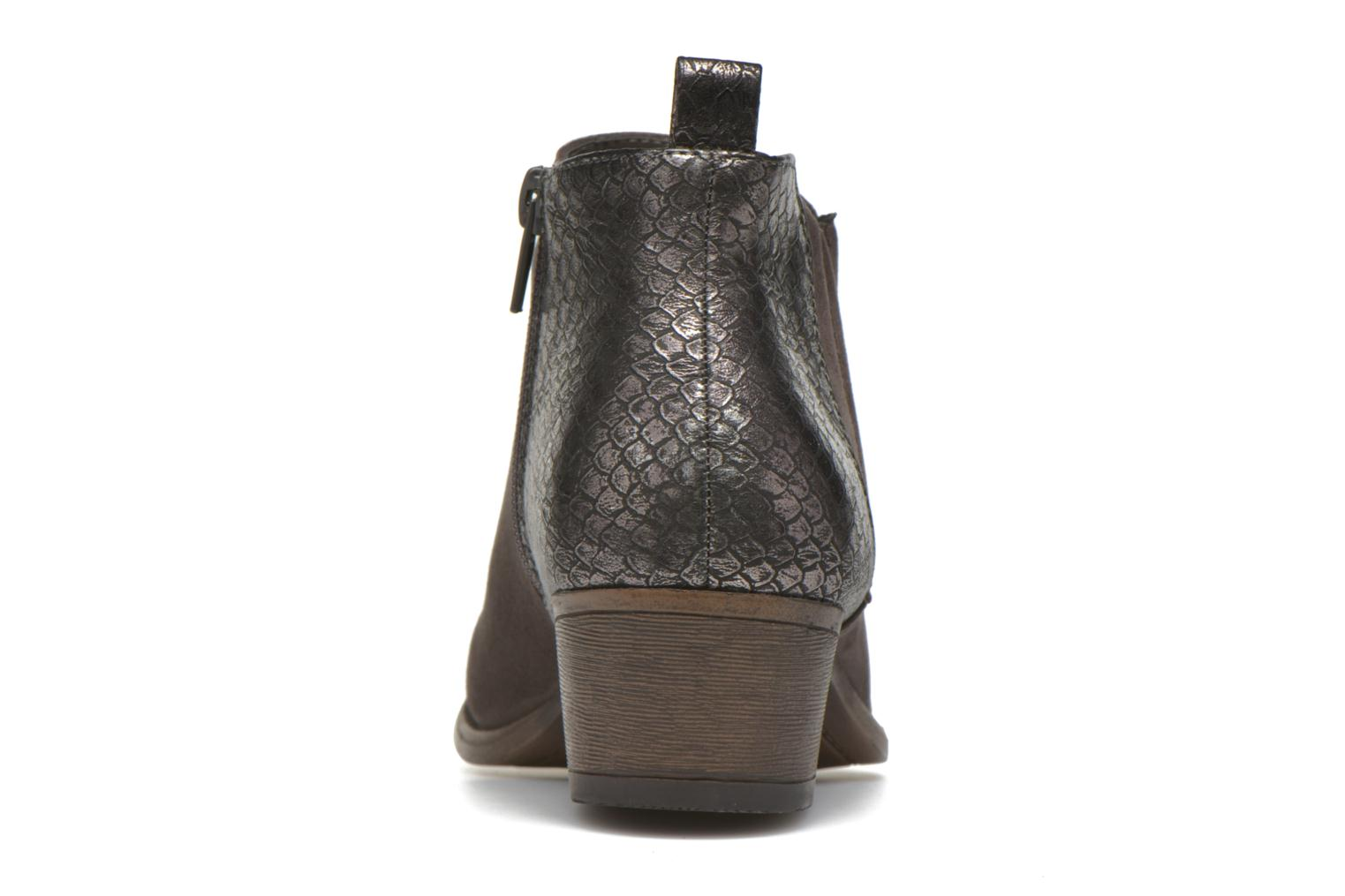 Ankle boots I Love Shoes THESARD Grey view from the right