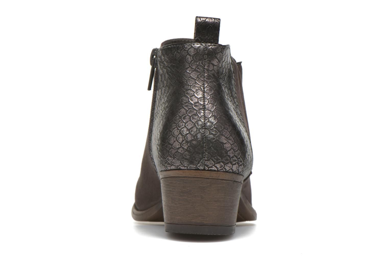 Botines  I Love Shoes THESARD Gris vista lateral derecha