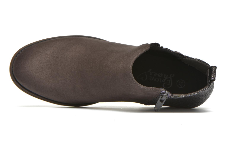 Botines  I Love Shoes THESARD Gris vista lateral izquierda