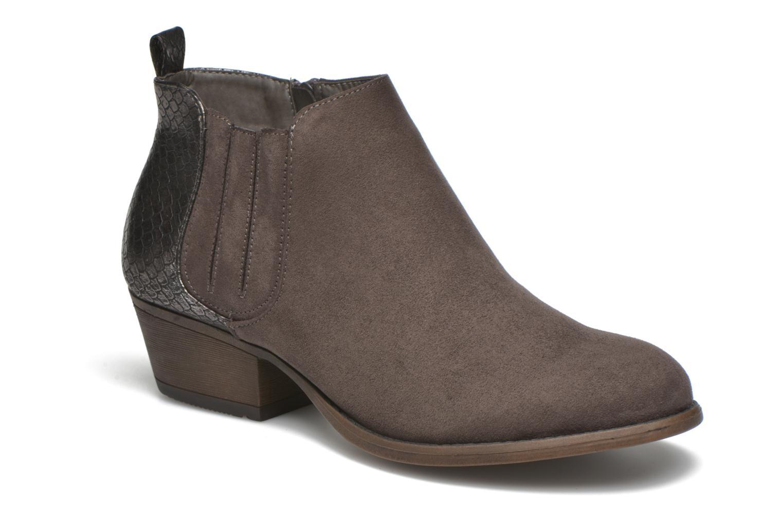 Botines  I Love Shoes THESARD Gris vista de detalle / par