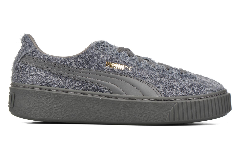 Sneaker Puma Suede Creeper Elemental grau ansicht von hinten