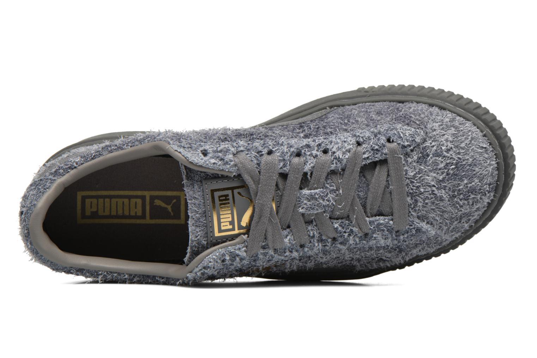Sneaker Puma Suede Creeper Elemental grau ansicht von links