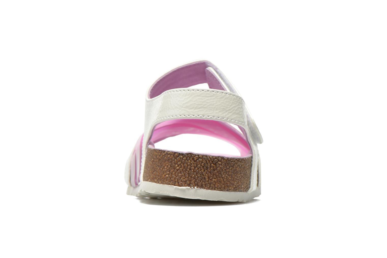 Sandales et nu-pieds Kickers Magiweek Blanc vue droite