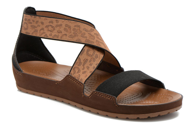 Crocs Anna Ankle Strap Sandal Hazelnut/Espresso
