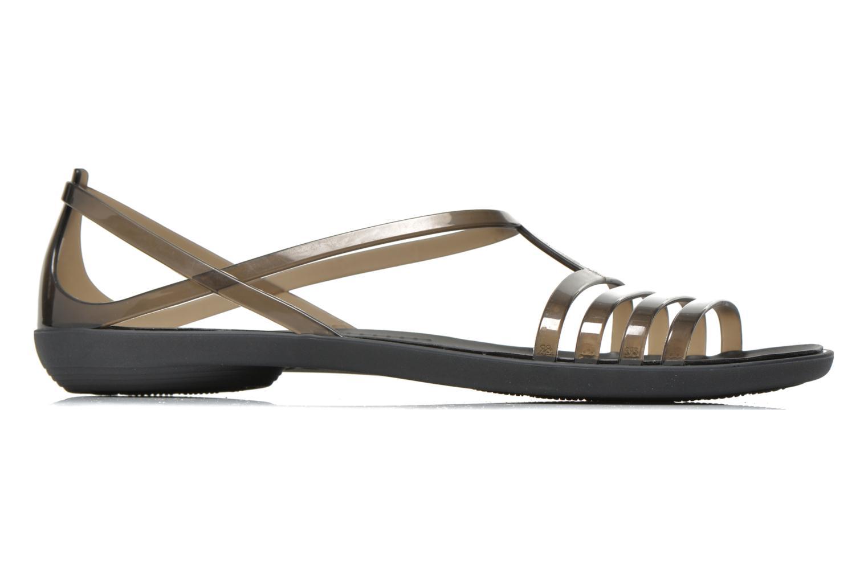 Sandales et nu-pieds Crocs Crocs Isabella Sandal W Noir vue derrière
