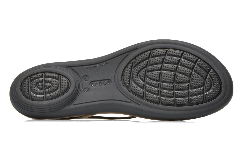 Sandales et nu-pieds Crocs Crocs Isabella Sandal W Noir vue haut