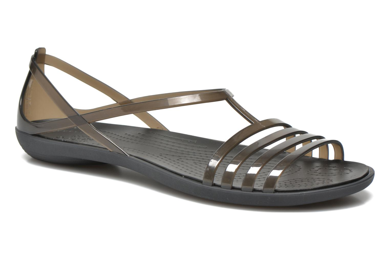Sandales et nu-pieds Crocs Crocs Isabella Sandal W Noir vue détail/paire