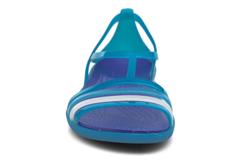 Sandalen Crocs Crocs Isabella Sandal W blau schuhe getragen