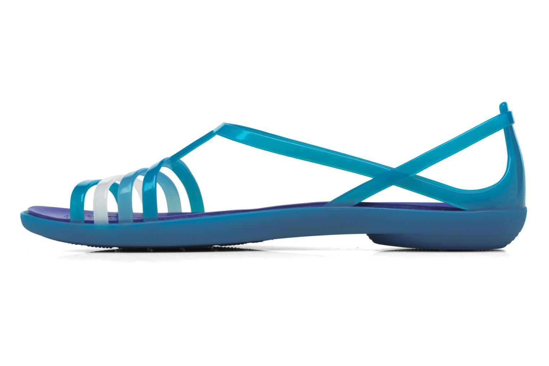 Sandalen Crocs Crocs Isabella Sandal W blau ansicht von vorne