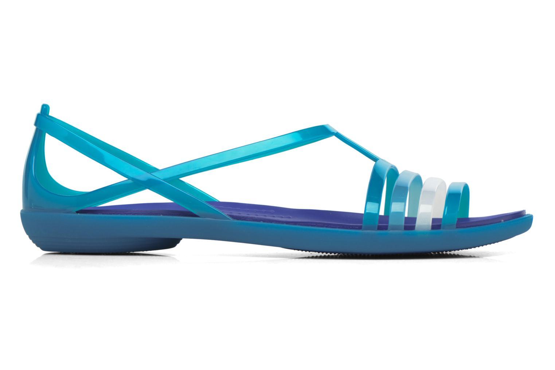 Sandales et nu-pieds Crocs Crocs Isabella Sandal W Bleu vue derrière