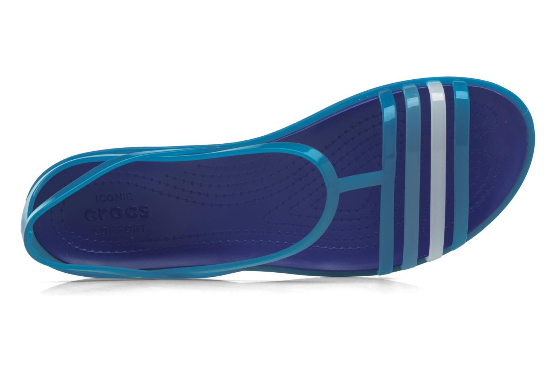 Sandalen Crocs Crocs Isabella Sandal W blau ansicht von links