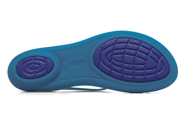Sandalen Crocs Crocs Isabella Sandal W blau ansicht von oben