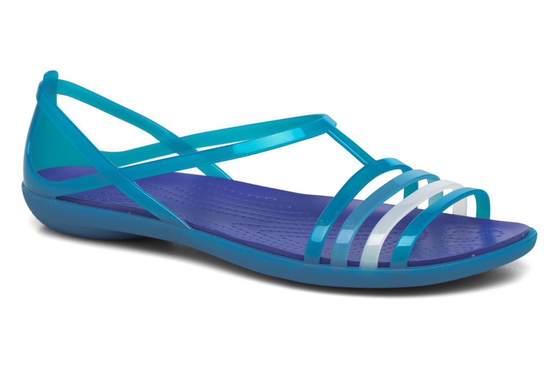 Sandales et nu-pieds Crocs Crocs Isabella Sandal W Bleu vue détail/paire