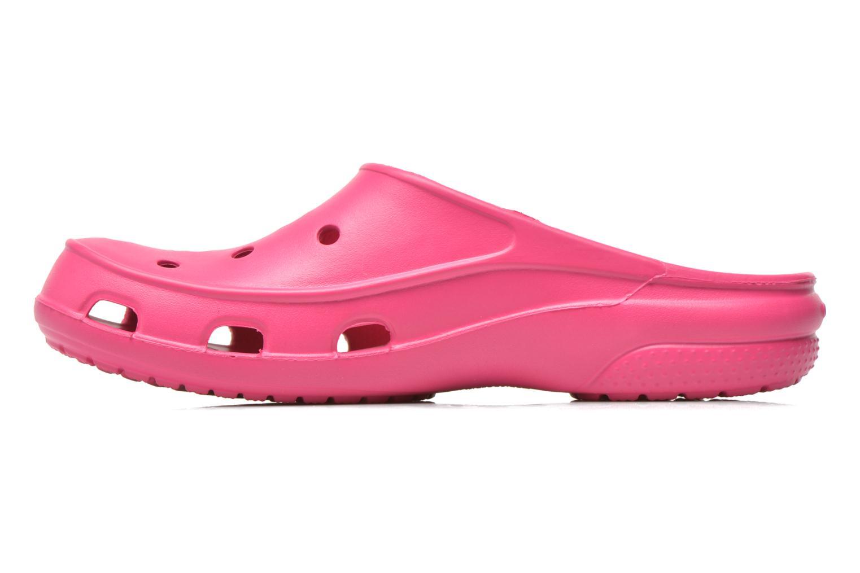 Mules & clogs Crocs Crocs Freesail Clog W Pink front view