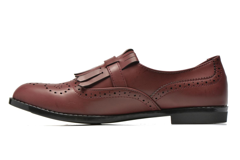 Slipper I Love Shoes KIFASSE weinrot ansicht von vorne