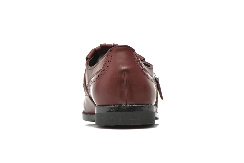 Mocassins I Love Shoes KIFASSE Bordeaux vue droite