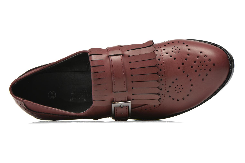 Mocassins I Love Shoes KIFASSE Bordeaux vue gauche