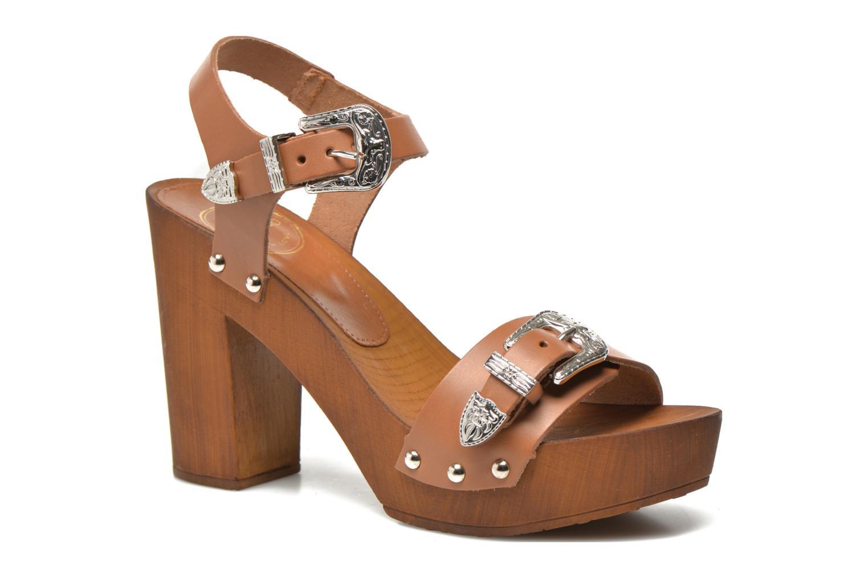 Sandalen Made by SARENZA Discow Girl #10 braun ansicht von vorne