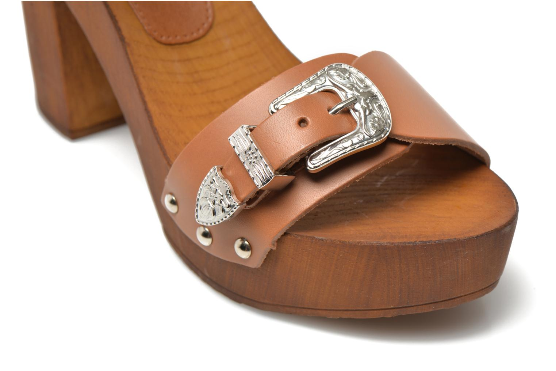 Sandales et nu-pieds Made by SARENZA Discow Girl #10 Marron vue derrière