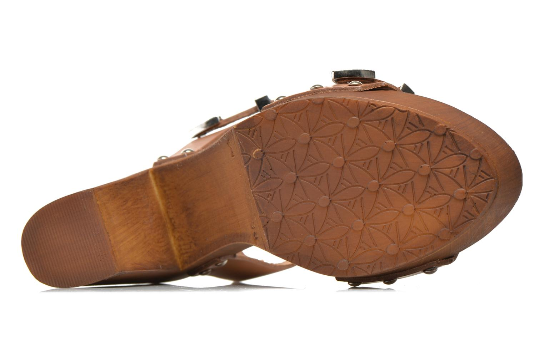 Sandales et nu-pieds Made by SARENZA Discow Girl #10 Marron vue gauche