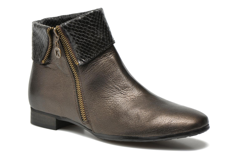Karston Jozio Ankle Boots Women Cuivre