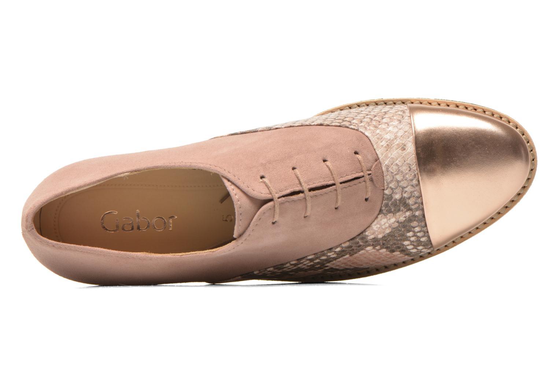 Chaussures à lacets Gabor Agathe Multicolore vue gauche