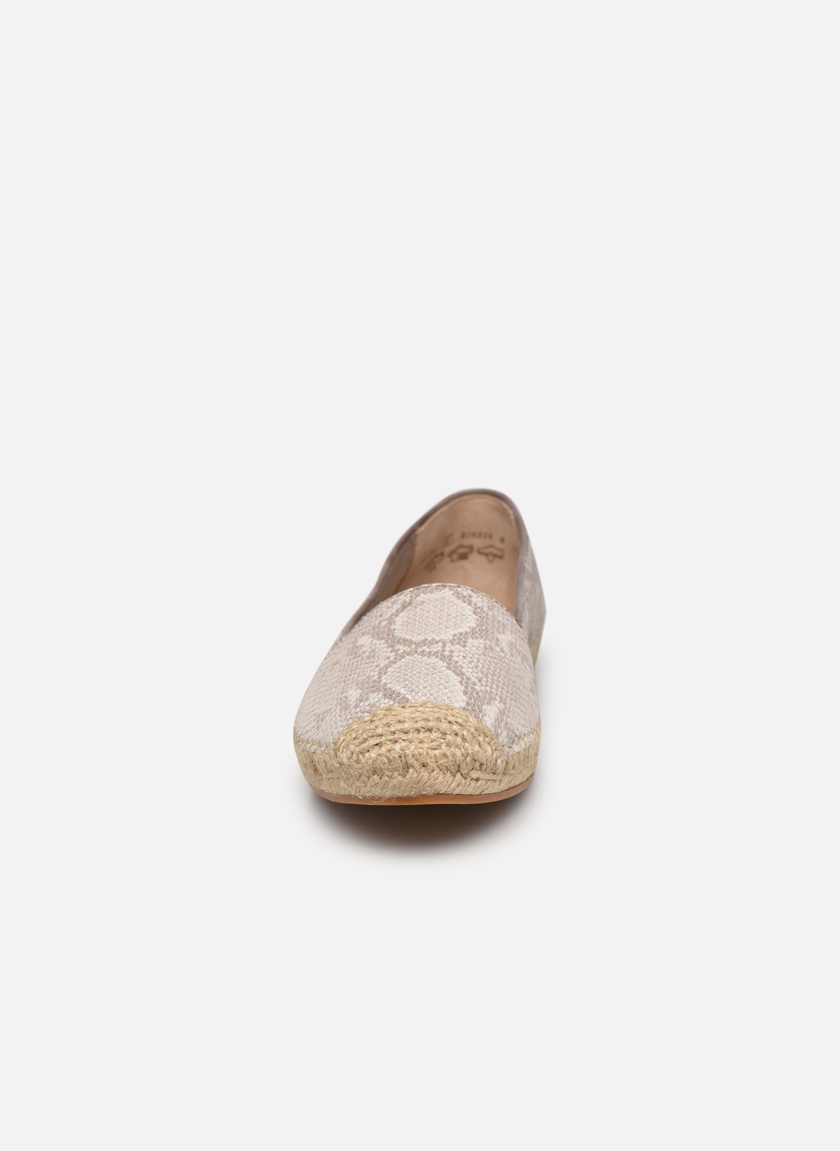 Espadrilles Gabor Laure Beige vue portées chaussures