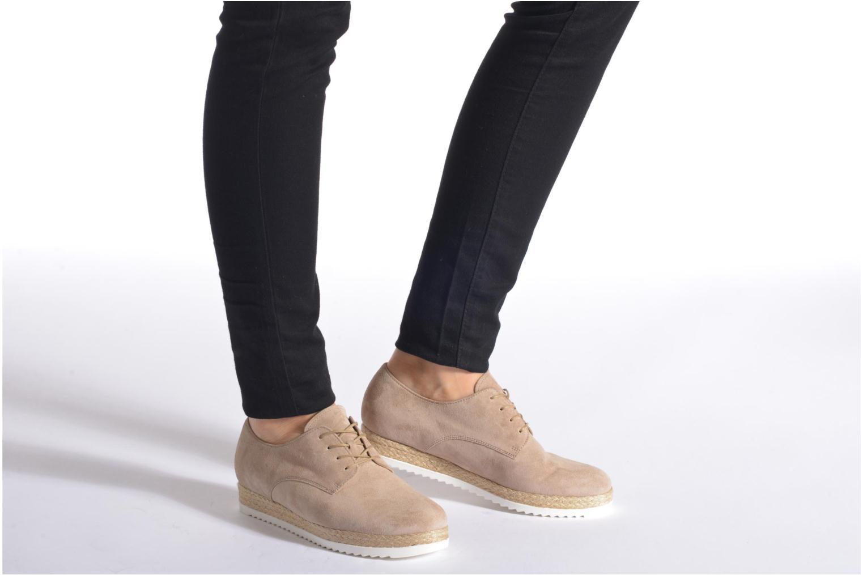 Snörade skor Gabor Lilo Beige bild från under