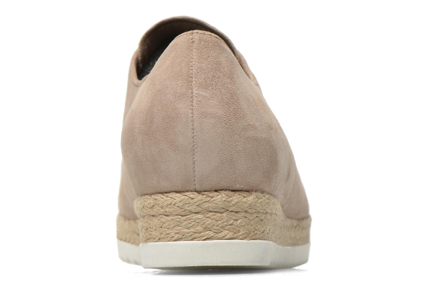 Lace-up shoes Gabor Lilo Beige view from the right