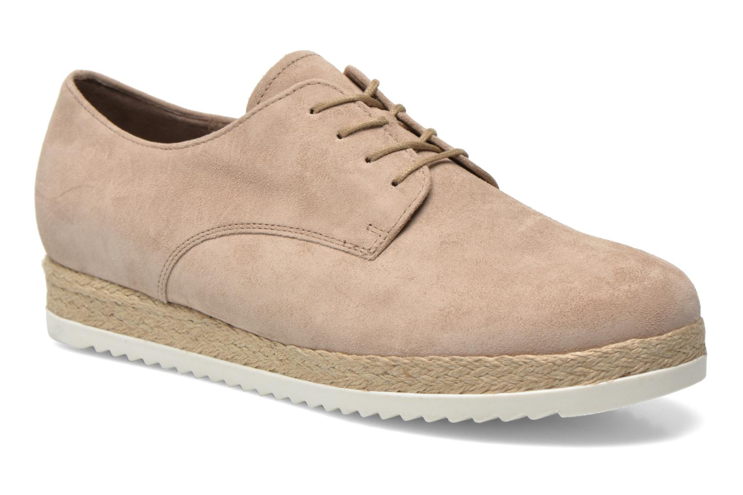 Lace-up shoes Gabor Lilo Beige detailed view/ Pair view