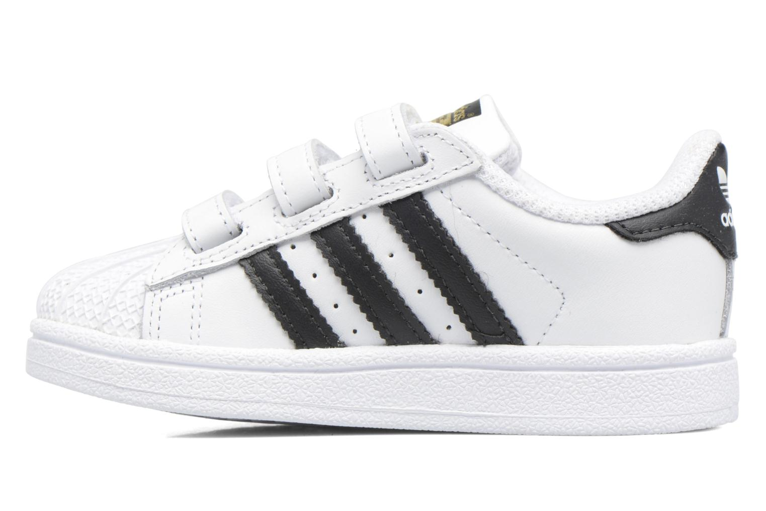 Baskets Adidas Originals Superstar CF I Blanc vue face