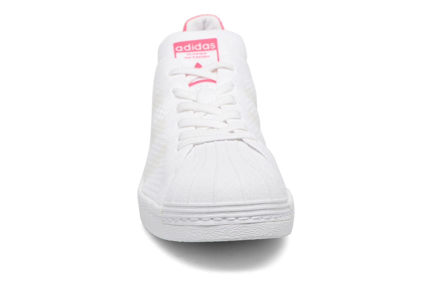 Trainers Adidas Originals Superstar 80S PK W White model view