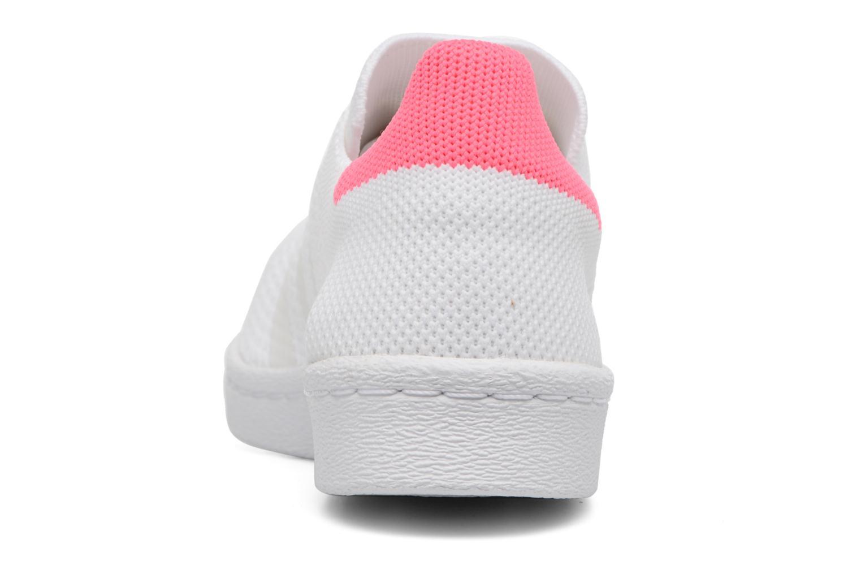 Baskets Adidas Originals Superstar 80S PK W Blanc vue droite