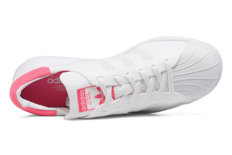 Baskets Adidas Originals Superstar 80S PK W Blanc vue gauche